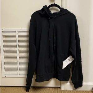 Alo interval hoodie black